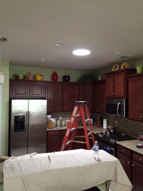 Sun Tunnel kitchen