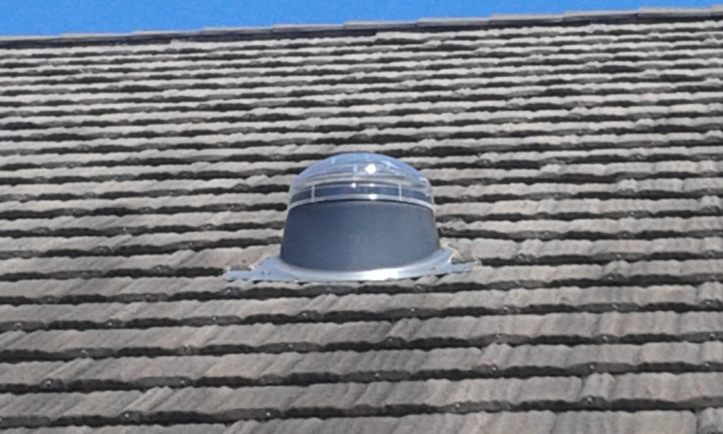 through metal shingle installation at Best Roofs