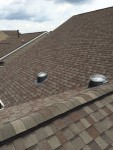 Installed roof domes done by Conrad Mille of Tubular Skylights by Conrad.